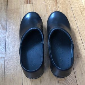 Sanita clogs, professional black